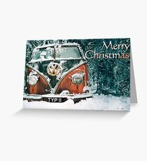 Snowed In this Christmas Greeting Card