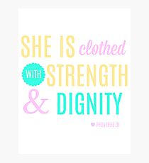 Proverbs 31 Print Photographic Print