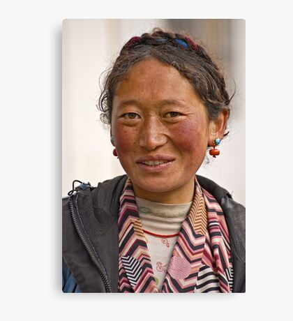 Tibetan girl (III) Canvas Print