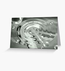 Drop on Rollers Greeting Card