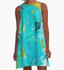 Waterscape A-Line Dress