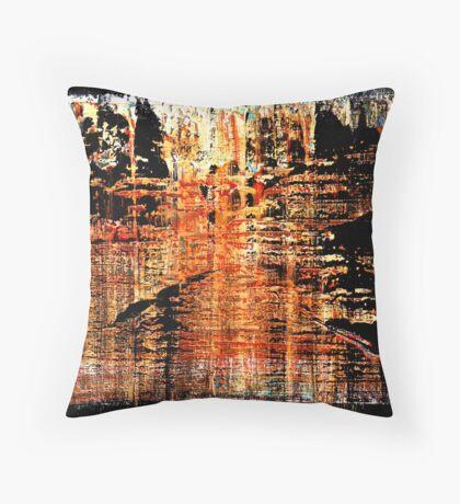 Zen Landscape II Throw Pillow