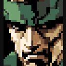 Solid Snake by winscometjump
