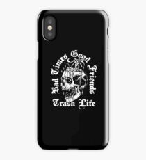 good times bad friends iPhone Case