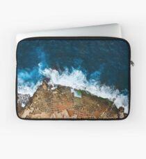 Ein Luftschuß der Salz-Wannen in Marsaskala Malta Laptoptasche