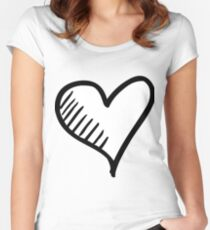 Doodle 02 - HHTY 68 Women's Fitted Scoop T-Shirt