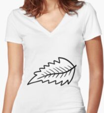 Doodle 02 - HHTY 5 Women's Fitted V-Neck T-Shirt
