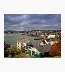 Lunenburg Harbour Photographic Print
