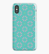 peaceful sank colors decorate seamless colorful repeat pattern iPhone Case