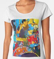 Drummer Women's Premium T-Shirt