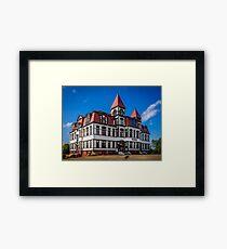 Lunenburg Academy Framed Print