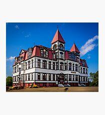 Lunenburg Academy Photographic Print