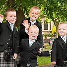 Scottish Pageboys: Wedding in Edinburgh by DonDavisUK