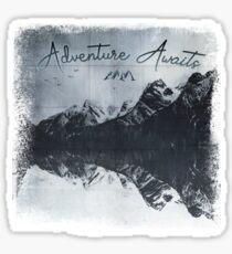 HeartBeat - Adventure Awaits Sticker