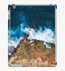 An aerial shot of the Salt Pans in Marsaskala Malta iPad Case/Skin