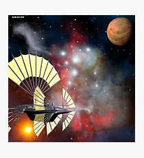 Space at a leisurely pace Photographic Print