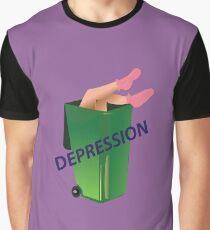 depression Graphic T-Shirt