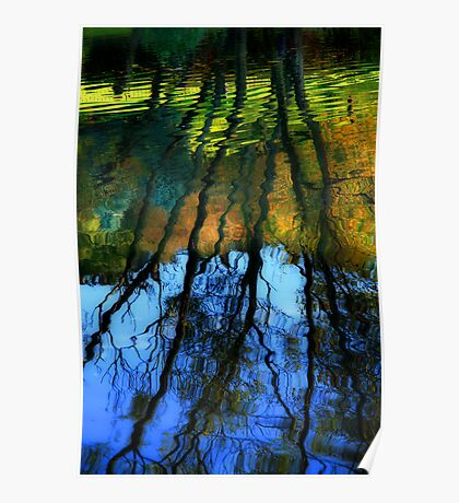 Autumn Reflections Poster