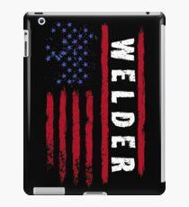 Welding America flag iPad Case/Skin