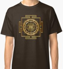 Shri Yantra - Cosmic Conductor of Energy Classic T-Shirt
