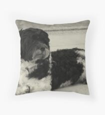 Go Go By The Pool Throw Pillow