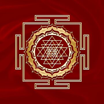 Shri Yantra - Cosmic Conductor of Energy, Sacred Geometry by nitty-gritty