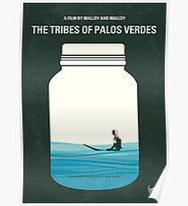 No957 My The Tribes of Palos Verdes minimal movie poster Poster