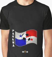 Panama 2018 Soccer Tournament Flag Russia Graphic T-Shirt