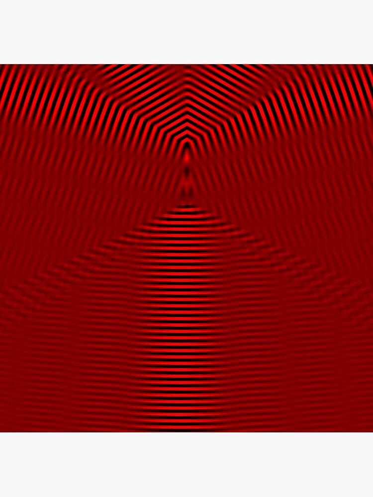 Red Round by Etakeh