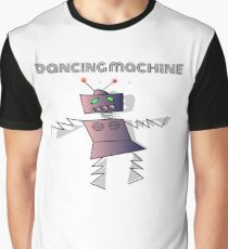 Dancing Machine Dancing Robot Graphic T-Shirt