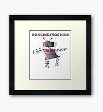 Dancing Machine Dancing Robot Framed Print