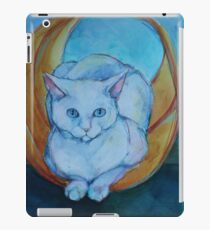 Tunnel vision - cat iPad Case/Skin