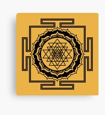 Shri Yantra - Cosmic Conductor of Energy Canvas Print