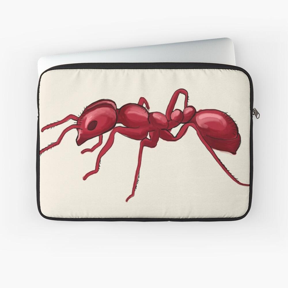 God made an Ant Laptop Sleeve