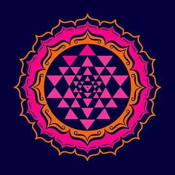 Shri Yantra - Cosmic Conductor of Energy by nitty-gritty