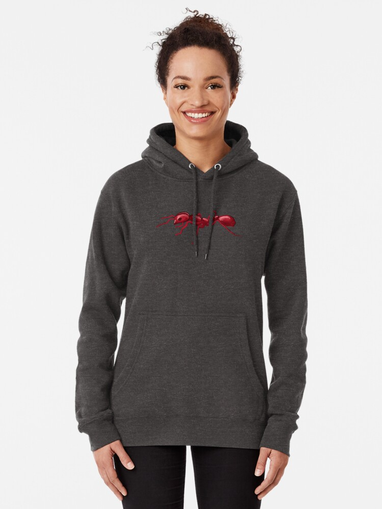 Alternate view of God made an Ant Pullover Hoodie