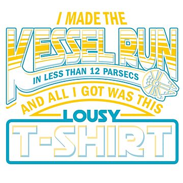Lousy T-shirt from Hyperspace Route by Olipop
