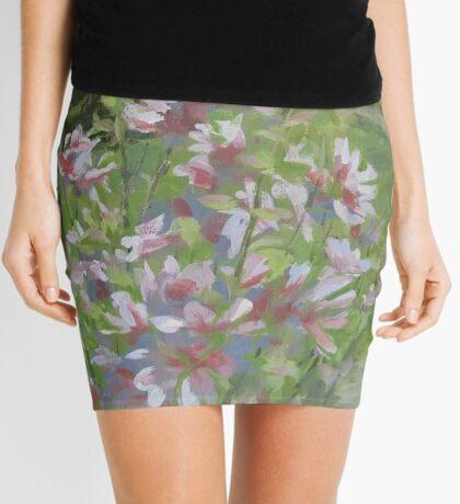 Grandma's Flowers Mini Skirt