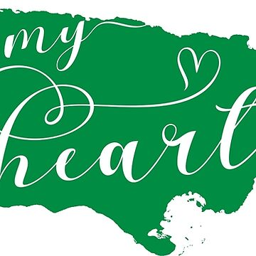 Jamaica Is In My Heart Map Sticker by Celticana