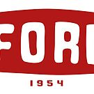 FORD - 1954 by SALT on Redbubble