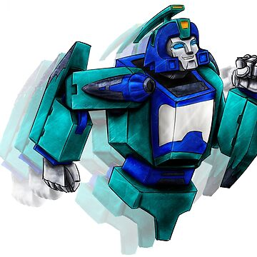 Transformers generation1 Blurr by rabbittree