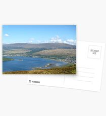 Loch Linnhe from Cow Hill, Fort William Postcards