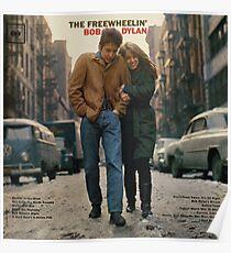 The freewheelin Bob Dylan Poster