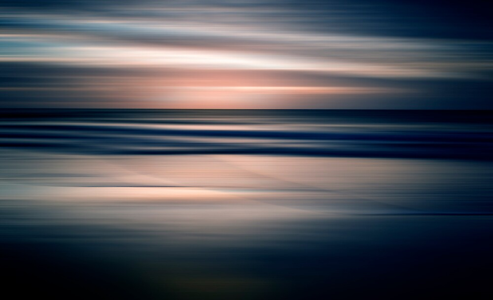 Beach Abstract by Jenny Dean