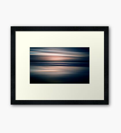 Beach Abstract Framed Print