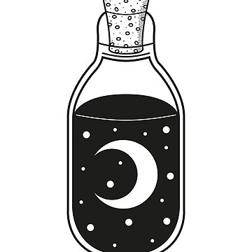 Moon Bottle by Blvckstar
