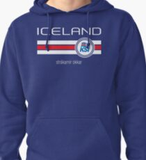 Football - Iceland (Home Blue) Pullover Hoodie