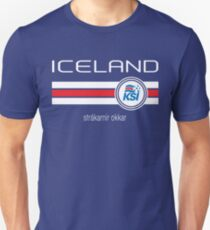 Football - Iceland (Home Blue) Unisex T-Shirt