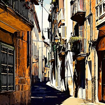 Artwork Palma de Mallorca Spain by artfx