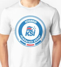 Football - Team Iceland Unisex T-Shirt